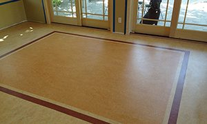 Natural linoleum
